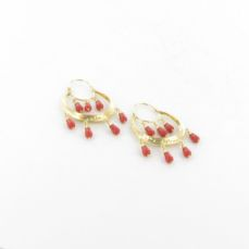 GOLD EARRINGS FOR WOMEN A325