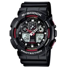 CASIO WATCH FOR MEN G-SHOCK GA-100-1A4ER