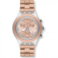 SWATCH WATCH FOR WOMEN IRONY FULL-BLOODED CARAMEL SVCK4047AG