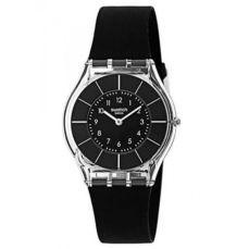 SWATCH WATCH FOR WOMEN SKIN BLACK CLASSINESS SFK361