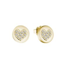 GUESS EARRINGS FOR WOMEN HEART DEVOTION UBE82043