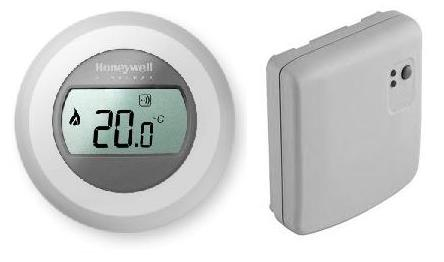 Y87RF2058 Honeywell Round Termostato Inalambrico
