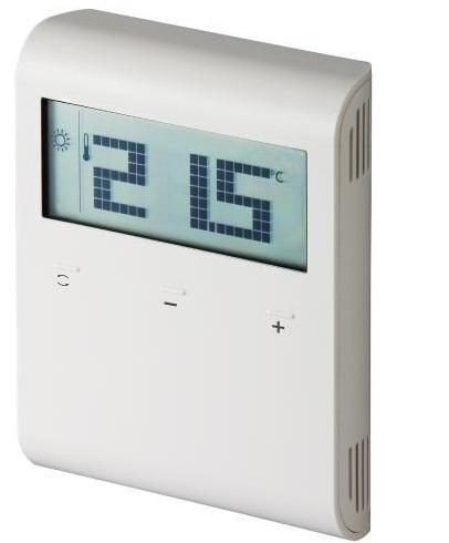 Siemens RDD100.1RF Termostato inalámbrico de ambiente