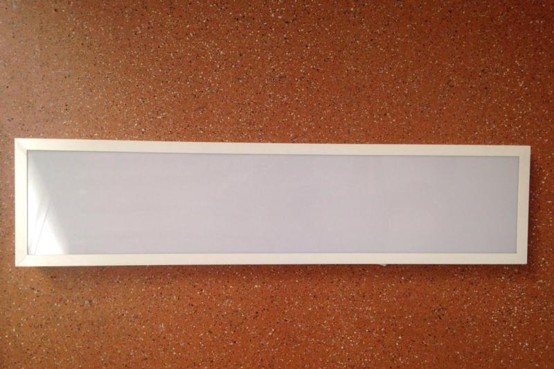 Plafon led rectangular blanco 300x600 for Plafon led cocina rectangular