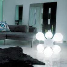 detalle foto lampara atomium