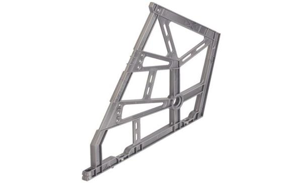 Herraje abatible para zapatero triple for Zapatera de aluminio