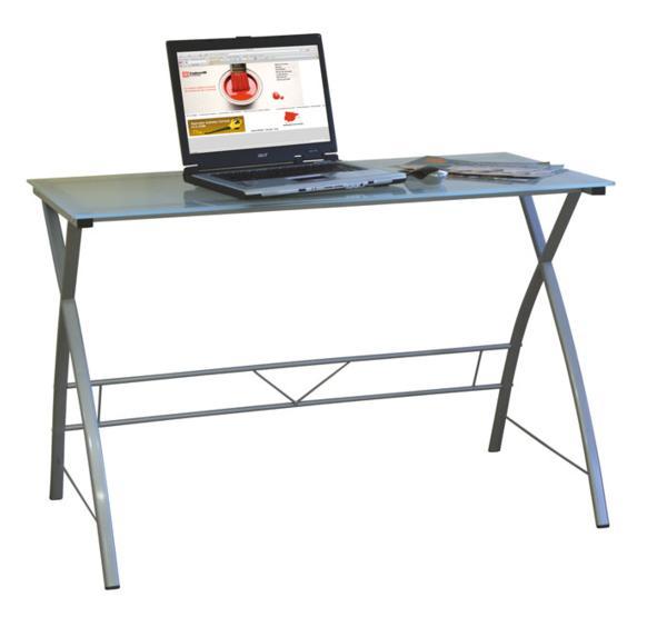 Mesa escritorio cristal - Mesa escritorio cristal ...