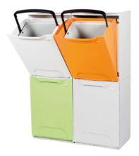 Cubos de reciclaje 257y10 - Cubos de basura extraibles ...