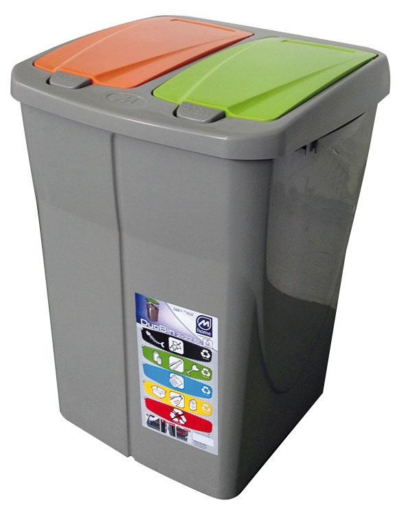 Cubos de basura reciclaje hydraulic actuators for Papelera reciclaje ikea