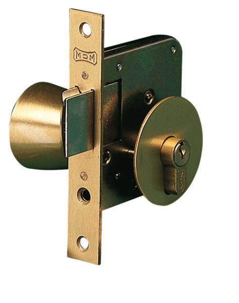 Cerradura embutir madera - Pomo con cerradura ...