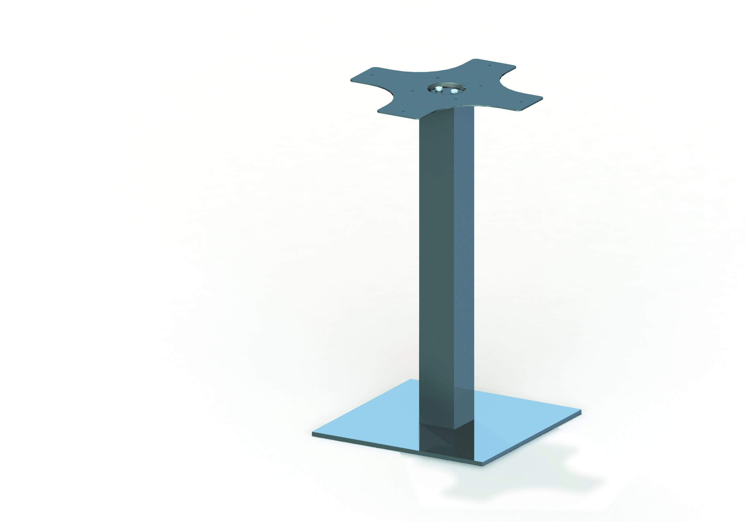 Pata para mesas hera 100 - Patas plegables para mesas ...