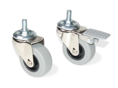 Rueda slip gris ruedas para muebles ferreteria online for Ruedas industriales antiguas para muebles