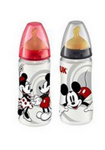 NUK BIB PP MICKEY LATEX 300 ML