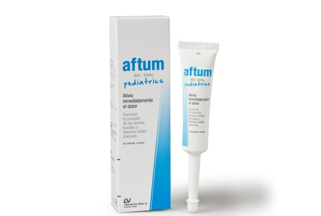 AFTUM GEL ORAL PEDIATRICS 15ML