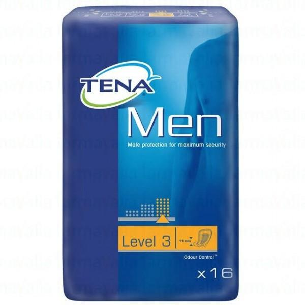 TENA FOR MEN LEVEL 3 16 U
