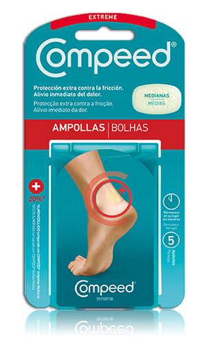 COMPEED EXTREME AMPOLLAS 5 U