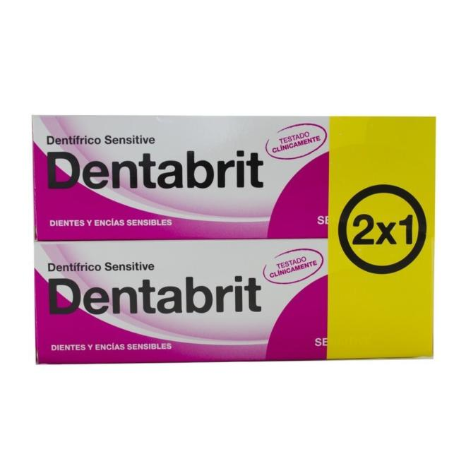 DENTABRIT SENSITIVE 75 ML 2X1