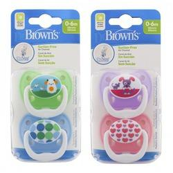 DR BROWNS CHUP PREV T1 0-6M 2U