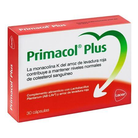 LACER PRIMACOL PLUS 30 CAPS