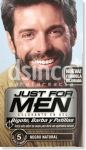 JUST FOR MEN BARBA NEGRO 15