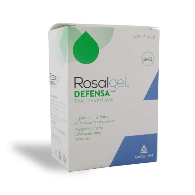 ROSALGEL DEFENSA TOALLITAS INTIMAS