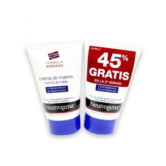 NEUTROGENA CRE.MANOS 50ML DUPLO 45%GRATI