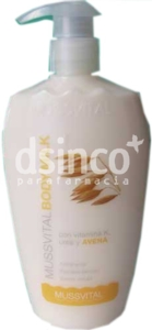 MUSSVITAL BODY MILK URE AVE300