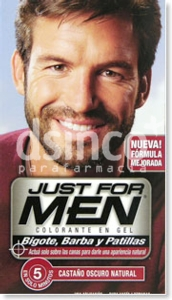 JUST FOR MEN CASTAO OSCURO 30