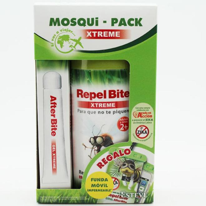 MOSQUIPACK XTREME & BOLSA IMPERMEABLE ***