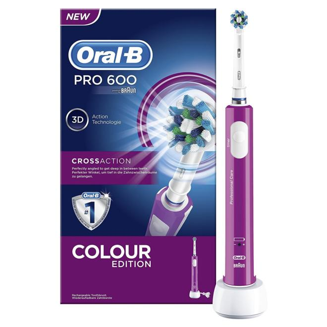 ORAL B CEP.REC.PRO60 CROSS ACTION MORADO