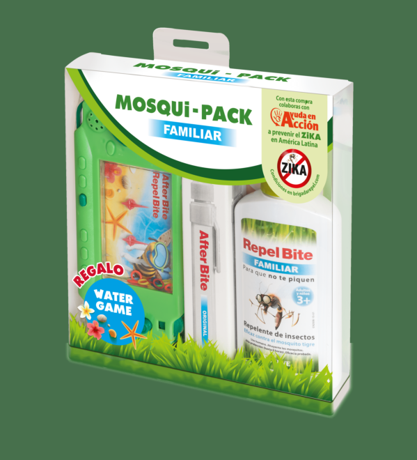 MOSQUIPACK FAMILIAR & WATERGAME