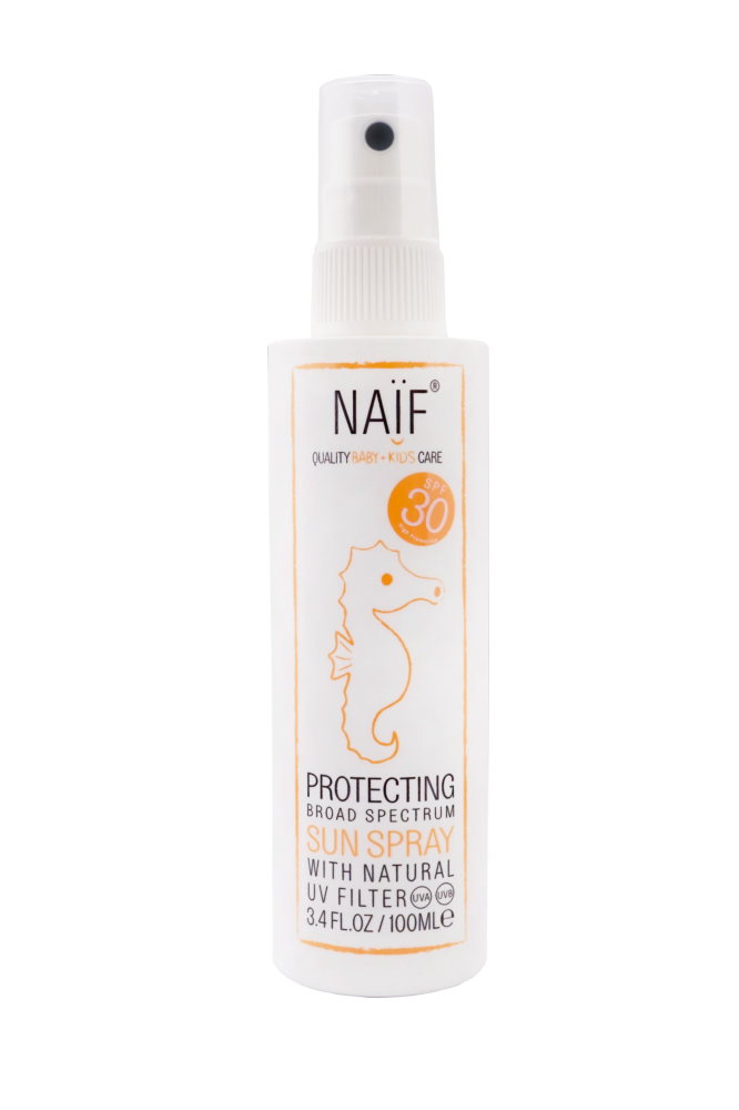 NEW - NAIF PROTECCION SOLAR SPRAY SPF30 100ML
