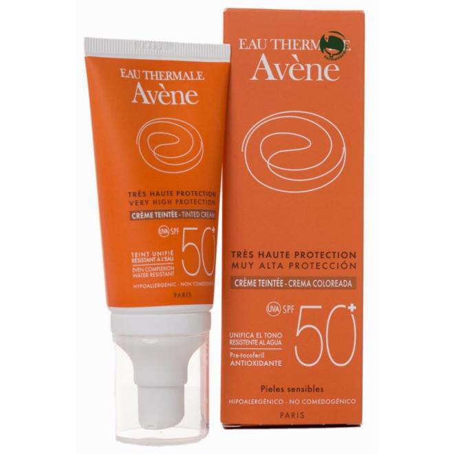 AVENE CREMA COLOREADA 50+ 50ML
