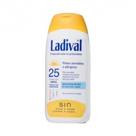 LADIVAL GEL-CREMA FPS25 200 ML