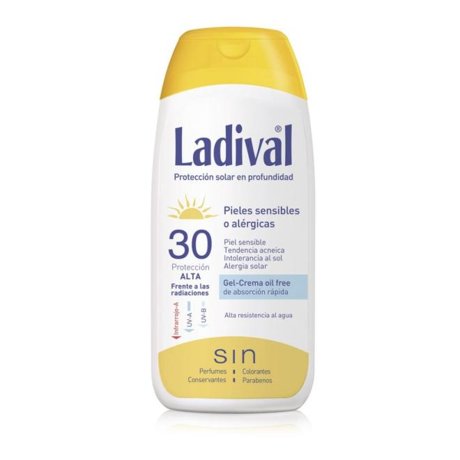 LADIVAL GEL-CREMA FPS30 200 ML