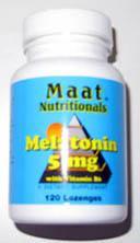 MELATONIN MAAT 5MG VIT. B6 SUBLINGUAL 120 COMPRIMIDOS