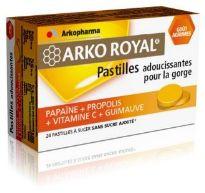 arko royal pastillas calmantes garganta 24 unidades