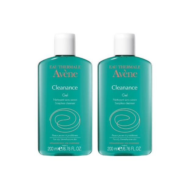 Avene Cleanance gel limpiador 300ml oferta x2 unidades