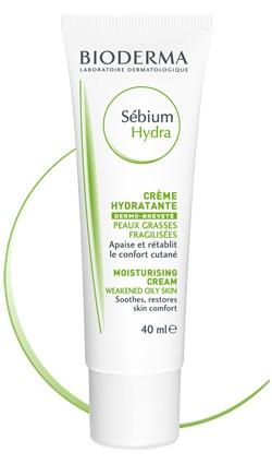 Bioderma sebium hydra crema hidratante para pieles grasas 40ml