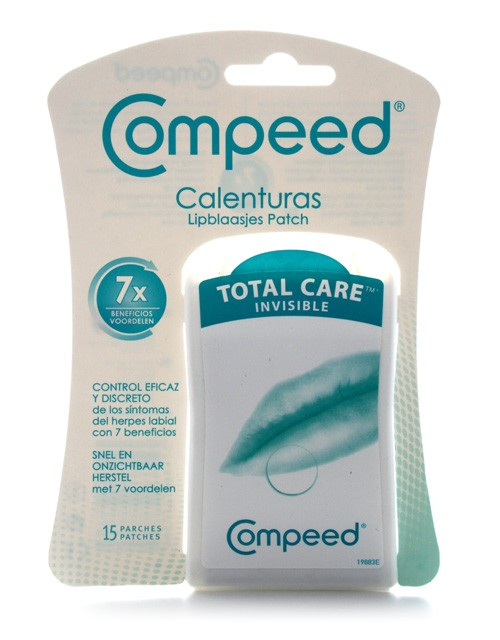 COMPEED PARCHES CALENTURAS HERPES LABIAL 15U