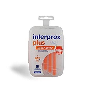DENTAIN INTERPROX PLUS SUPER MICRO 10 UNIDADES