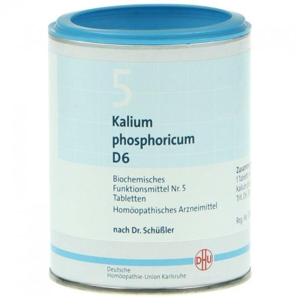 DHU SCHUBLER 5 KALIUM PHOSPHORICUM D6 80 COMP.
