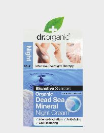 DR. ORGANIC DEAD SEA MINERALS NIGHT CREAM 50ML
