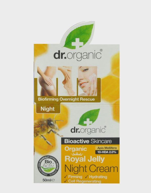 DR. ORGANIC ROYAL JELLY NIGHT CREAM 50ML