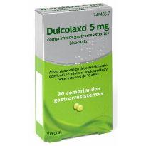 DULCO LAXO 5MG 30 GRAGEAS
