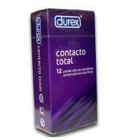 DUREX PRESERVATIUS CONTACTO TOTAL 12UNI.