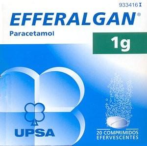 EFFERALGAN 1G 40 COMP. EFERVESCENTES