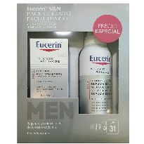 EUCERIN HOMBRE CREMA ANTI EDAD 50ML CON BALSAMO AFTER SHAVE 75ML