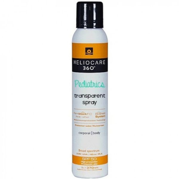 HELIOCARE 360 PEDIATRIC SPF50 TRANSPARENT SPRAY 200ML
