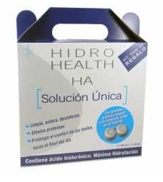 HIDRO HEALTH HA SOLUCION LENTILLAS 360ML X2 MAS KIT VIAJE Y PORTALENTILLAS